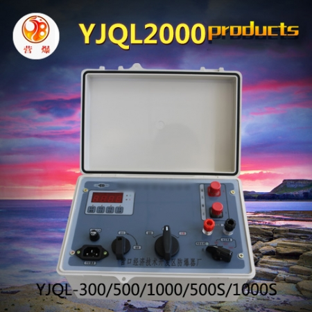 YJQL-2000 high energy digital display rechargeable exploder