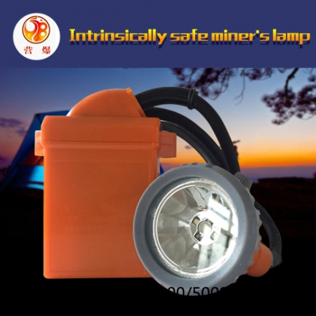 Intrinsically safe miners lamp